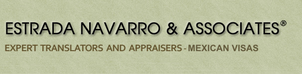 ESTRADA NAVARRO & ASSOCIATES ® OFFICIAL EXPERT TRANSLATORS AND APPRAISERS  - www.estradanavarro.com